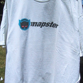 Napster t-shirt, circa 1999 - Mens Clothing