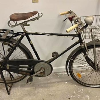 "50s Ginga ""Special Bicycle"" - Tokyo, Osaka - I cannot find any related info on the Ginga Works company. - Asian"