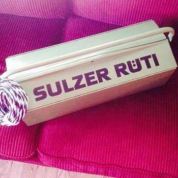 sulzer ruti  tool box - Tools and Hardware