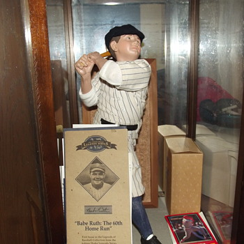 """ Babe Ruth: The 60th Home Run"" Ashton Drake Doll"