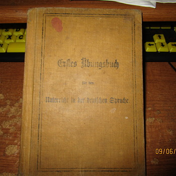Antique German language book - Books