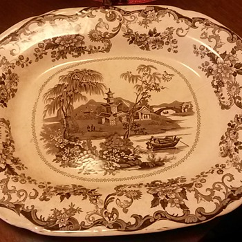 Large plater  - China and Dinnerware