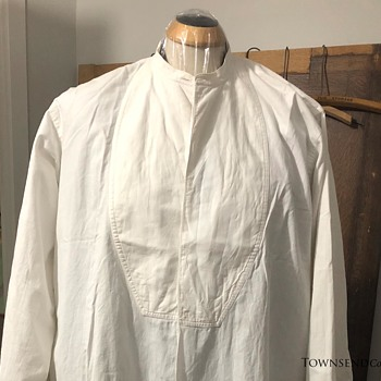 The T. EATON Co. Limited,  Edwardian Dress Shirt  circa. 1900 - Mens Clothing