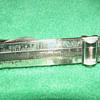 """Vintage Sterling Silver """"Slide-Ruler"""" Tie Clip"""