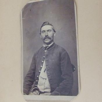 Wisconsin Civil War soldier CDV