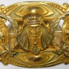 Art Nouveau Egyptian Revival Sash Pin, Late 1800-Early 1900