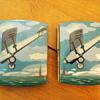 Pair of Spirit of St Louis Cigarette Cases