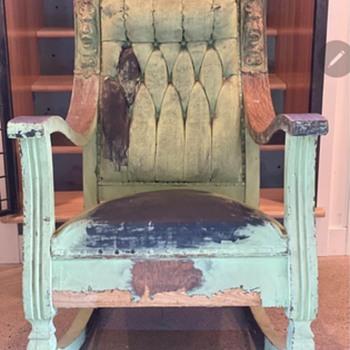 Victorian Lincoln Rocker ? - Furniture