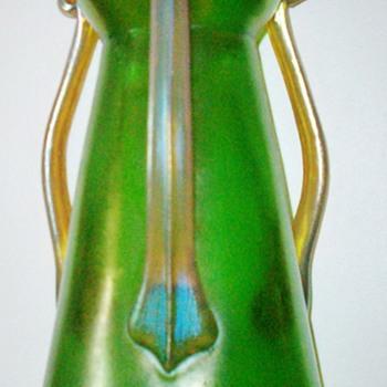 Loetz Ausfhurung 9 Three Handled Vase c.1907 - Art Glass