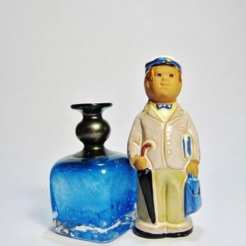 JIE CANTOFTA -SWEDEN  & B.VALLIEN VASE -SWEDEN - Pottery