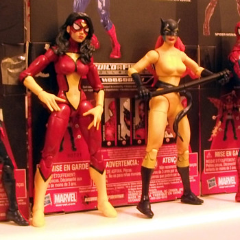 Marvel Legends Spider Spider Girl-Spider Woman-Wild Cat-Spider Man-Spider -Bull Dozer-Man 2099 - Toys