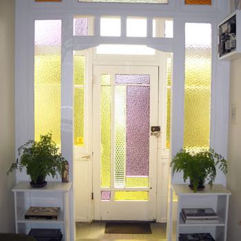Stained Glass Entrance Way Hall  - Furniture