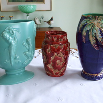 Three Beautiful BESWICK POTTERY Vases - Pottery