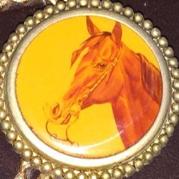 Vintage Western Wear Horse Bolo Tie - Accessories