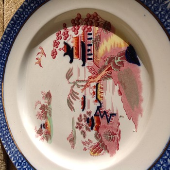Wood and sons semi porcelain Pekin plates - China and Dinnerware