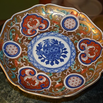 Two Daishoji Imari Plates - Asian