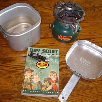 1960's Boy Scout Paraphernalia Of Mine - Tools and Hardware