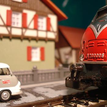 Ho Scene - Model Trains