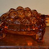 """Knobby Back Turtle,"" was made for L. G. Wright Glass by Fenton"