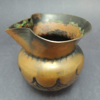 Small Copper/Brass Creamer - Kitchen