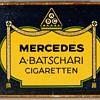 """1920's - A. Batschari """"Mercedes"""" Cigarettes Tin"""
