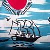 Fun Vintage Fabric--South Pacific/Tiki funk