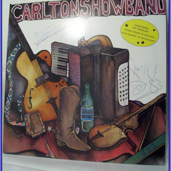 The CARLTON SHOWBAND -- Lp Record ( and Autographed )