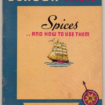 "1938 - ""Spices"" Recipe Booklet - Books"