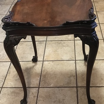 Chippendale Table? - Furniture