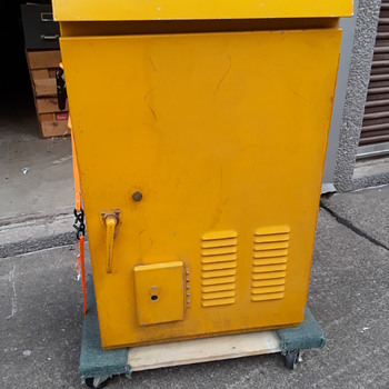 vintage CROUSE-HINDS traffic signal control cabinet - Electronics