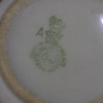 China cup with Royal Doulton logo