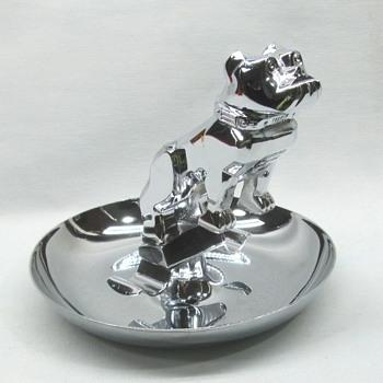 Bull Dog Mack Ashtray - Advertising