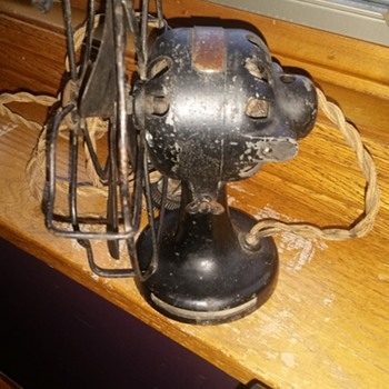 Gilbert Polar fan from 1920: The  before and after