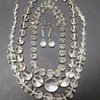 Vintage Faceted Glass or Crystal Necklace