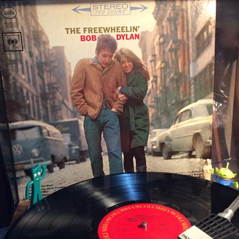 "Freewheelin' Bob"" May 1963 - Records"