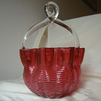 More Welz's baskets 3 - Art Glass
