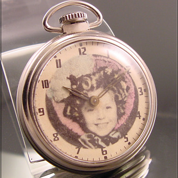 Shirley Temple Pocket Watch by Westclox c.1958 - Pocket Watches