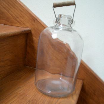 Old Glass Jugs - Bottles