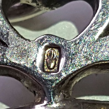 "Mysterious maker's mark ""urn"", close-up pics. - Fine Jewelry"