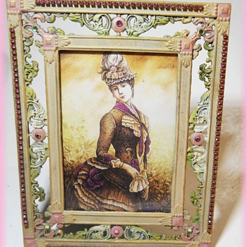 Photo Frame -- with Bling...LOL - Fine Art