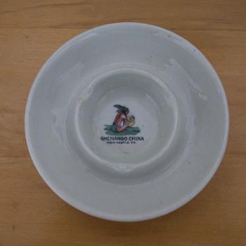 Vintage Ashtray by Shenango China - China and Dinnerware