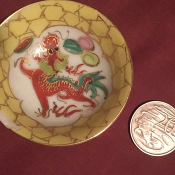 Small Asian bowl