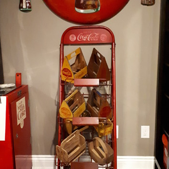 1940's Coca Cola case rack - Coca-Cola