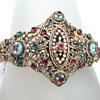 Bressan Antique French Enamel Bangle Bracelet