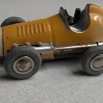 Old German Made wind up toy car - Model Cars