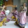 dolls dancing