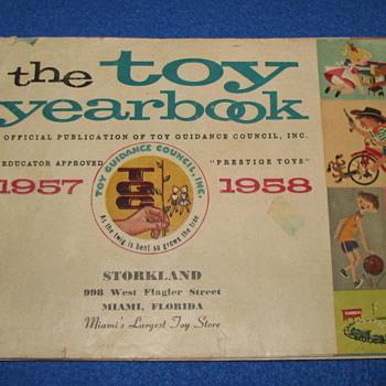 1957 Toy Book (Storkland Miami, Fl) - Toys