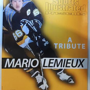 Mario Lemieux - 4 Magazine Covers - Hockey