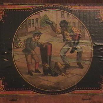 Mason's Challenge Shoe Blacking Polish Box and Fairbanks  Gold Dust Washing Powder - Advertising