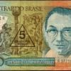 Brazil - (5) New Cruzados Bank Note - 1989